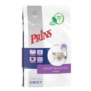 Prins Vitalcare Dieet Weight Reduction & Diabetic voor de kat
